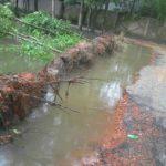 দেবপুর-মনোহরগঞ্জ সড়কে দুর্ভোগ চরমে