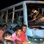 চান্দিনার নুরিতলায় সড়ক দুর্ঘটনার ২৫ স্কুল শিক্ষার্থী আহত