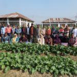 কুমিল্লায় ফল ও সবজি উৎপাদনের আধুনিক কলাকৌশল শীর্ষক কৃষক-কৃষাণীদের প্রশিক্ষণ