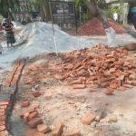 রায়পুরে নিম্নমানের ইট-কংক্রীট দিয়ে উপজেলা স্বাস্থ্য কমপ্লেক্সে সংস্কার
