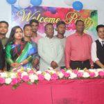 """কুমিল্লা মহানগর কলেজে """"ওয়েলকাম পার্টি"""" অনুষ্ঠিত"""