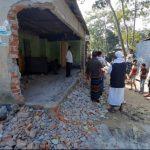 নাঙ্গলকোটে রাস্তা নির্মাণ নিয়ে পাল্টাপাল্টি অভিযোগ