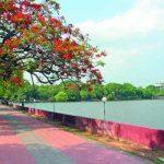 """কুমিল্লাবাসির অন্যতম বিনোদনকেন্দ্র """" ধর্মসাগর """" পাড়"""