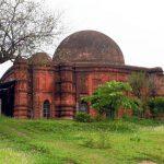সিলেটের হবিগঞ্জে পঞ্চদশ শতাব্দীতে নির্মিত প্রাচীন শংকরপাশা মসজিদ