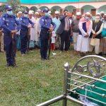 বি-পাড়ায় সাবেক সেনা কর্মকর্তা মুক্তিযোদ্ধা আলী আহম্মেদের দাফন সম্পন্ন