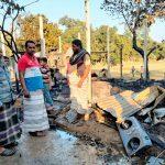 চৌদ্দগ্রামে তৃতীয় বিয়েতে বাধা দেয়ায় নিজের ঘর পুড়ল মাদকাসক্ত যুবক