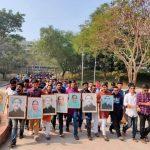 জাতীয় সংসদ নির্বাচনকে 'গণতন্ত্রের বিজয়' দাবি করে কুবি ছাত্রলীগের আনন্দ র্যালি