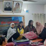 কুমিল্লায় অসহায়-বয়স্ক নারীদেরকে শীতবস্ত্র বিতরণ করলেন মহিলা বিষয়ক অধিদপ্তর