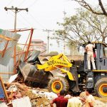 মুরাদনগরে অবৈধভাবে গড়ে উঠা ৩০০টি স্থাপনা উচ্ছেদ